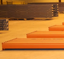 used keystone pallet rack